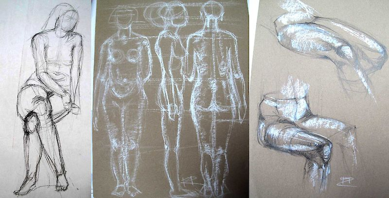 Zeichnen Aufbaulehrgang IV - Mal- und Zeichenschule